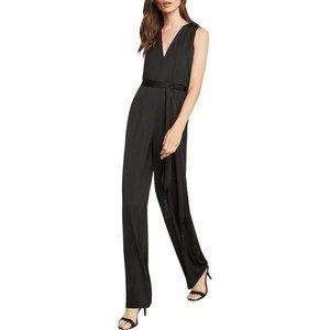BCBG   Black Sleeveless Jumpsuit